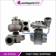 Twin Turbochargers Turbo For 05-09 Caterpillar 3572113 3431958 600hp +