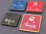 Collection Old Cigarette Tins Ritmeester Benson And Hedges Debretts Imperial Club