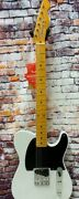 Fender 70th Anniversary Esquire Tele Electric Guitar With Case, White Blonde
