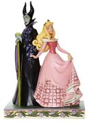 Jim Shore Disney Aurora And Maleficent Sorcery And Serenity 6008068