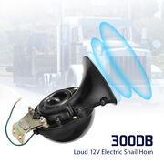 Train 300db 12v Super Loud Electric Snail Air Horn For Motorcycle Car Truck Boat