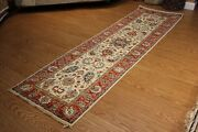 10 Ft. Hall Runner Fine Quality Handmade Rug Hand Knotted Vegetable Dyed