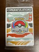 Pokemon Worlds Promo Sealed Pack Champions Festival 2016 All Languages New
