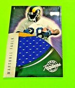 1999 Playoff Team Trademark Jersey Marshall Faulk Torry Holt Rc 2 Color Jt 14