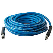 50ft 4000pis 3/8 Pressuer Washer Hose Flex With/nptquick Connector+adapter