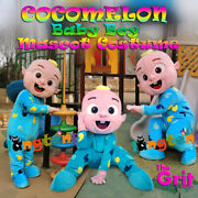 Cocomelon Cartoon Baby Boy Mascot Costume For All Occations