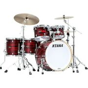 Tama Starclassic Walnut/birch 5-piece Shell Pack With 22 Bass Drum Red Oyster
