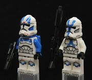 Lego Star Wars 501st Clone Trooper Phase 2 And Jet Trooper Lot From Set 75280