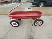 Vintage Murray Wagon Deluxe White Wall Tires Ball Bearing Racing Solid