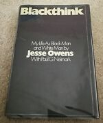 And039 Blackthink And039 An Autobiography Signed In Person By Jesse Owens Very Rare