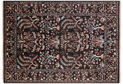 5and039 8 X 8and039 0 Handmade Traditional Wool Rug - Q8334