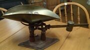 1906 Brass Beam Scale American Cutlery Co. Chicago 4 Lb Candy Vegetable Counter