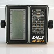 Lowrance Eagle Z-6000 Fish Finder Head Unit Untested As-is For Parts