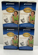Plantronics, Lot Of 4 Telephone Headset System, S12, Hands Free , Gray And Black