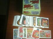 2005 Topps Wacky Packages Sealed Box Series 2 + Complete Set+ Tatoo Insert Set