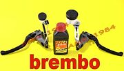 Set Pumps Brake Clutch Brembo Radial Rcs 19 + Clutch With Accessories