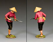 King And Country Vietnam War Vn103 Female Viet Cong With M16