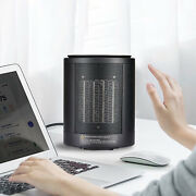 Compact Electric Space Heater Personal Desktop Small Heater For Home Garage