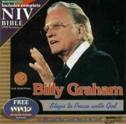 Zondervan Niv Bible With Billy Graham Pc Cd Religion Studies Reference Software