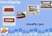 Sheaffer Pen Medium 1 Fountain 1ball Point Silver And Gold Color Second Hand