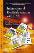 Interactions Of Herbicide Atrazine With Dna Paperback By Hepel Maria Stobi...