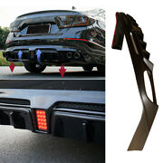 For Honda Accord 2018-2021 Unfinished Rear Bumper Diffuser Bodykit With Lights