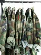 Camo Jacket Vintage Army Jacket Reclaimed Military Button Down Shirt