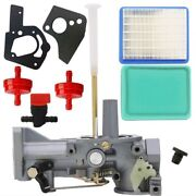 Carburetor Carb Kit For Mtd 5hp Garden Tiller With Briggs And Stratton Engine