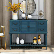 Console Table With Drawers Cabinet And Shelf Entryway Sofa Living Room Hallway