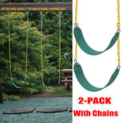 2pack Outdoor Heavy Duty Swing Seat Swing Set Accessories Swing Seat Replacement