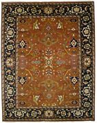 One Of A Kind Floral Design 11and0396x14and0398 Oversized Oriental Rug Farmhouse Carpet