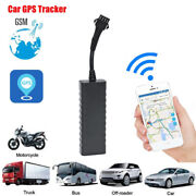 Mini Car Gps Tracker Real Time Vehicle Locator Over Alarm Anti-theft Protection