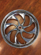 Misc Pm Turbo Chrome 23 Wheel Tire Rotors Package 08-17 Touring Pm-tur-23dd