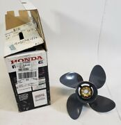 58134-zw1-017ah Honda 1995 And Up Alum Propeller 12-3/4x17 60 75+ Hp New Take Off
