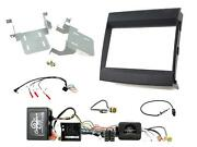Ctkpo09 Black Double Din Facia Infodpater Most 25 Amplified For Porsche Cayenne