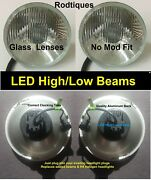 7 Led Headlights Led High/low Maxtel Head Lamps Upgrade Led Conversion - 2