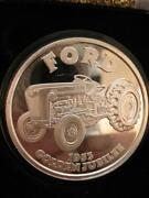 1-oz. 1953 Ford Tractor Golden Jubilee Gift Collect.999 Proof Silver Coin+gold