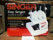 Singer Tiny Serger Model Ts380 Plus Overedging Sewing Machine