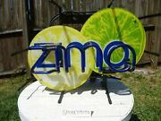 Zima Beer Neon Bar Sign - For Parts Or Repair - Coors/zima - Man Cave Decor