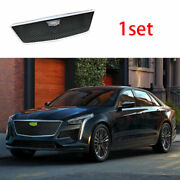 For Cadillac Ct6 2019-2020 Abs Black Sport-v Front Bumper Mesh Grill Grille 1set