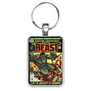 Amazing Adventures Featuring The Beast 11 Cover Key Ring Or Necklace X-men