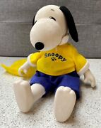 1990s Snoopy Sitting Doll / Plush 7 Inches Vintage Collectable Ufs Hanna-barbera