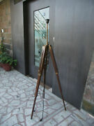 Tripod Floor Lamp Stand Antique Wood Lamp Home And Decor Floor Lamp Stand