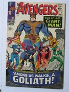 Avengers 28 Fn/vf 1st Goliath 1st Collector Skud12061