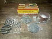 Vintage 1952 O And S Scale Plasticville Water Tank 1615 -100 Complete Original Box