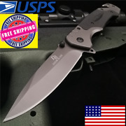 Us Special Folding Tactical Assisted Knife Pocket Outdoor Military Combat Knifes