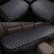 Car Seat Protector Car Interior Full Set Cover Front+rear Pu Leather Cushion