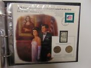 Information Card Half Dollar Set And Stamps Combo John F Kennedy Advisory Council