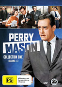 Perry Mason Collection One - Seasons 1-3 Import Uk Import Dvd [region 2] New