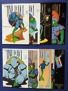 The Fish Police 1 - 8 1985 Fishwrap Rare 1st Print Of 1 Lot Of 8 Nm-